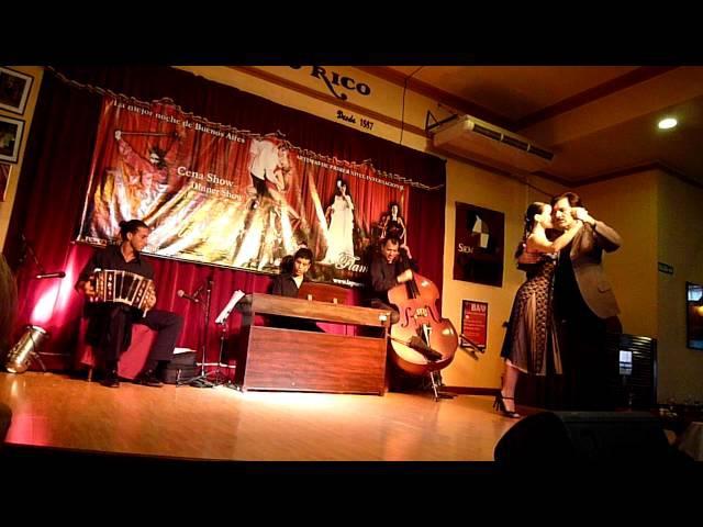 Show de Tango Paula Franciotti y Orlando Scarpelli bailan Loca de D´arienzo
