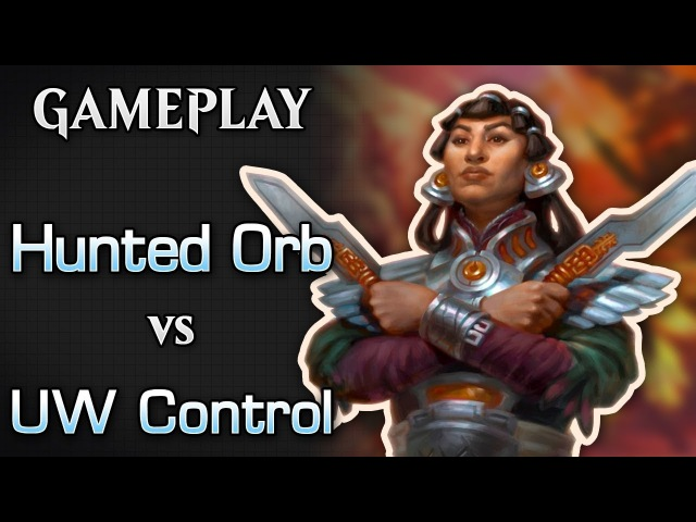Hunted Orb -vs- Blue White Control - MTGO Gamplay 03 (Last match of the league)