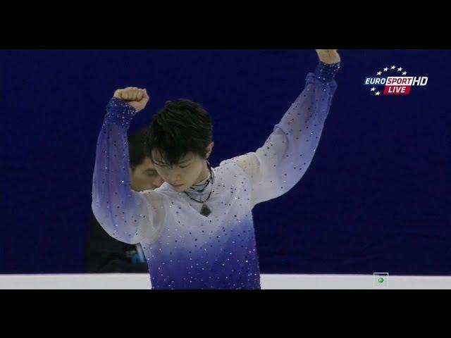 Yuzuru Hanyu 羽生結弦 SP 2015 - World, Shanghai HD | Юзуру Ханю КП Мир, Шанхай 2015