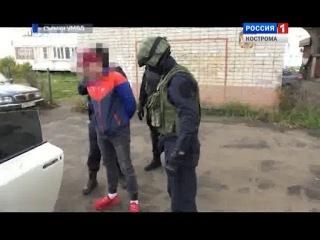 Костромские полицейские задержали подозреваемого в организации автоподставы