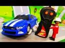 Мультики про машинки. Супер новая Машинка в ЛЕГО мультике – Смешные гонки. Мульт...