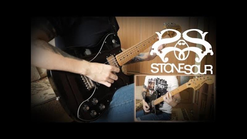 Stone Sour - Hydrograd (HD Guitar Cover w/Solo)