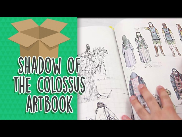 Unboxing Shadow of the Colossus Artbook
