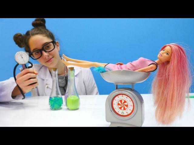 Barbie'nin kuyruğu çıkıyor! Eğlenceli kız oyunları