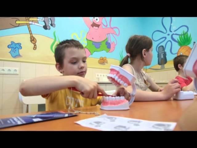 урок гигиены полости рта в день защиты детей клиника эстетической стоматологии ФАБЕРЖЕ