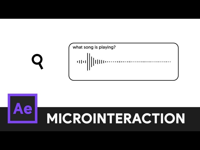 Music Search Icon Animation After Effects Microinteraction 07