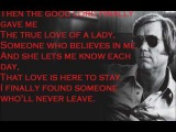 George Jones The Right Left Hand Song w lyrics