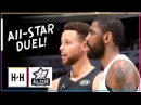 Kyrie Irving vs Stephen Curry ELITE PG Duel Highlights at 2018 All Star Game!