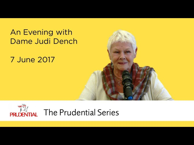 An Evening with Dame Judi Dench