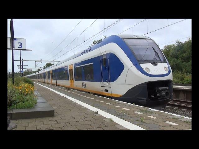 SLT 2658 2451 komen aan op station Den Haag Moerwijk