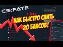 CSFATE - CRASHGAME СОШЕЛ СУМА ИЛИ КАК БЫСТРО СЛИТЬ 20 БАКСОВ!