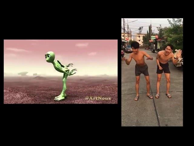 (បទថ្មី ក្បាច់រាំថ្មី), Alien Popoy 2018 New melody Remix club Thai Remix 2k19