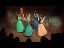Ninfe Nereidi per le Arti della Sibilla danza antica romana con i crotali