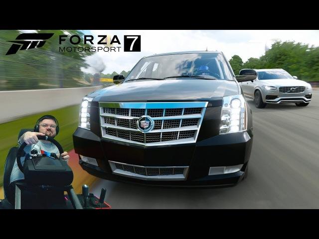Упоротый чемпионат на кроссоверах и жесткий троллинг соперника на Чероки 😃 Forza Motorsport 7