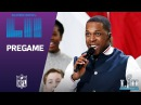 Leslie Odom Jr. Sings America the Beautiful   Super Bowl LII NFL Pregame