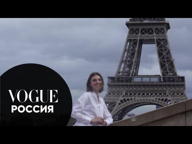 Милена Литвиновская показывает, как живется моделям во время Недели моды