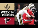 Saints vs. Falcons   NFL Week 14 Game Highlights