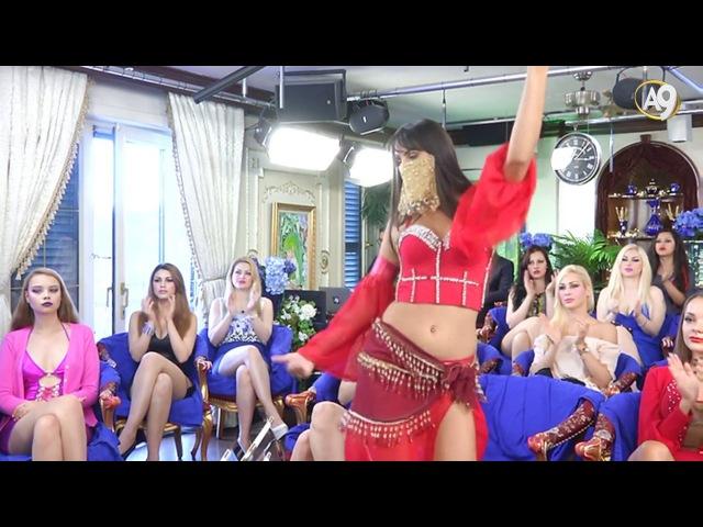 Rus güzelin İlvanlım parçasındaki muhteşem dansı