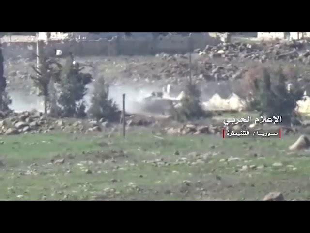 Расчет ПТРК Сирийской армии уничтожает ЗСУ-23-4