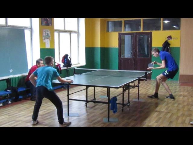 Настольный теннис. Финал. Хименко - Габаев