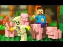 Лего НУБик 👑 Борька Майнкрафт Мультфильмы Все Серии Подряд КокаТуб Мультики