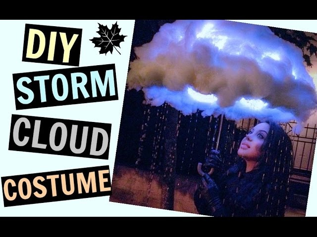 DIY GLOWING STORM CLOUD COSTUME (PINTEREST) - Maddie Ryles