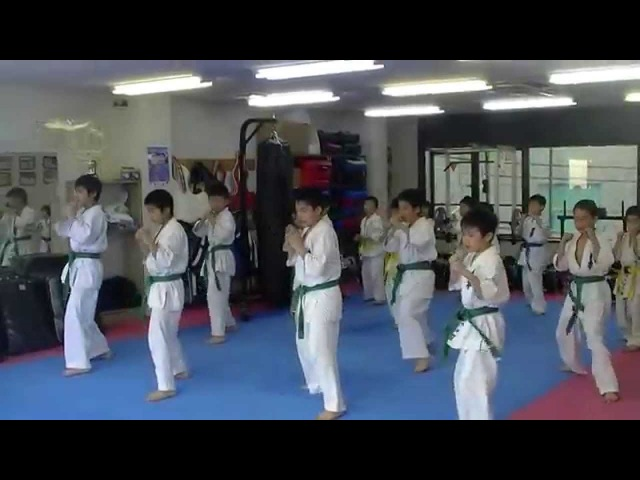 KWF極真空手 千葉田中道場 2015移動稽古