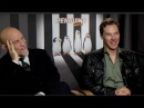 Benedict Cumberbatch John Malkovich interview PENGUINS OF MADAGASCAR