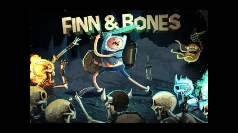 Игра Время Приключений Финн и Кости видео для детей про Джейка беднягу приключения adventure time