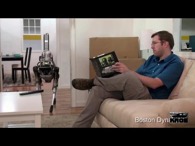 Смотри у меня есть Coca-Cola а у тебя нет (Судьбинушка робота-собаки из BostonDynamics) озвучка, мат