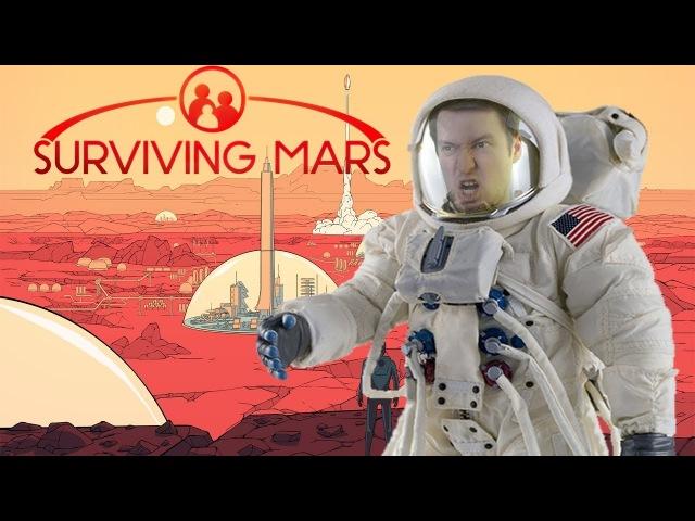 Обзор Surviving Mars - Выживание на Марсе