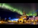 Northern lights in Santa Claus' hometown Rovaniemi Lapland Finland aurora borealis for kids travel