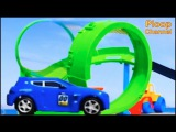 Bussy & Speedy SEASIDE RACE TRACK - Bburago Toy Cars for Children.Stories for Kids