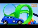 Bussy Speedy SEASIDE RACE TRACK - Bburago Toy Cars for for Kids
