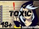 Toxic Player в дуо 18 (много мата)