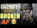COD WW2 Broken AF! Call of Duty WW2 Grease Gun Multiplayer Gameplay PS4 PRO