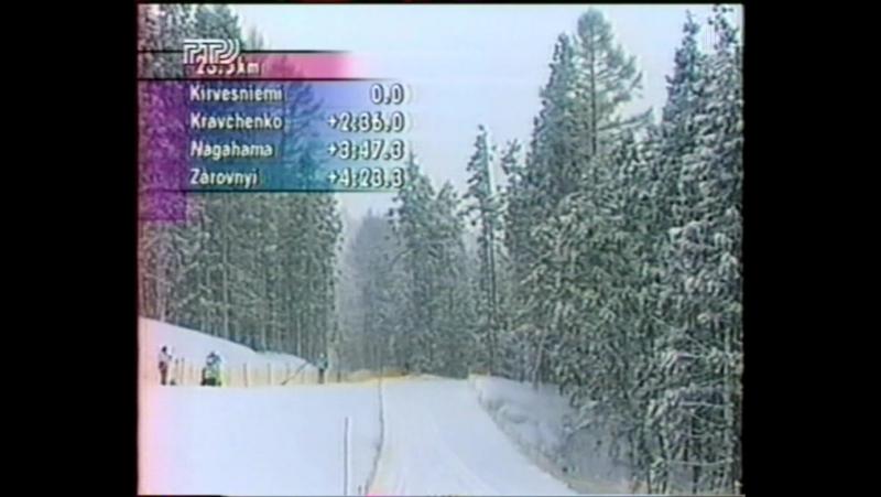 XVIII Зимние Олимпийские Игры (РТР, февраль 1998) Лыжные гонки, мужчины, 30 км