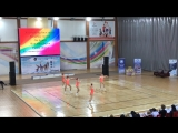 Группа 12-14 лет Житникова Анастасия, Рябик Дарья, Ли Арина, Павлова Дарьья, Капочюс Алёна