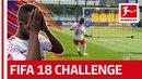 Keita Forsberg Co FIFA 18 Bundesliga Free Kick Challenge RB Leipzig Part 2