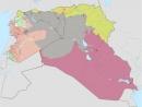 Сирия и Ирак 2014 2017 годы Анимированная карта