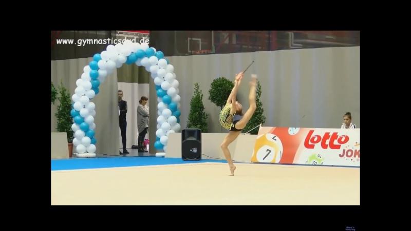 Кристина Пограничная Булавы - Happy Cup Ghent 2017