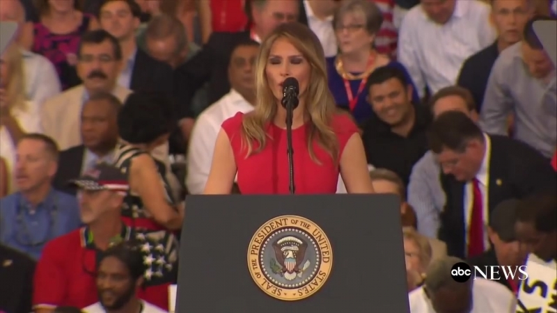 Melania Trump Full Speech at Florida Trump Rally - ABC News