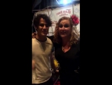 Julie James with Darren Criss at Elsie Fest 2016