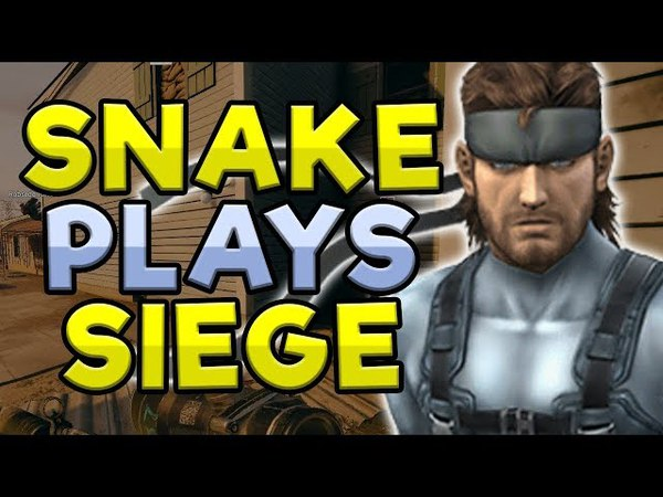 SOLID SNAKE Plays Rainbow Six Siege! Soundboard Pranks!