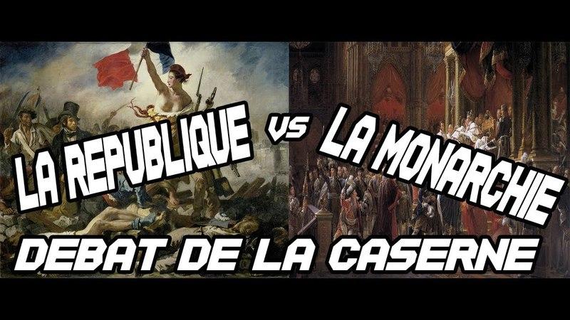 République vs Monarchie débat audio