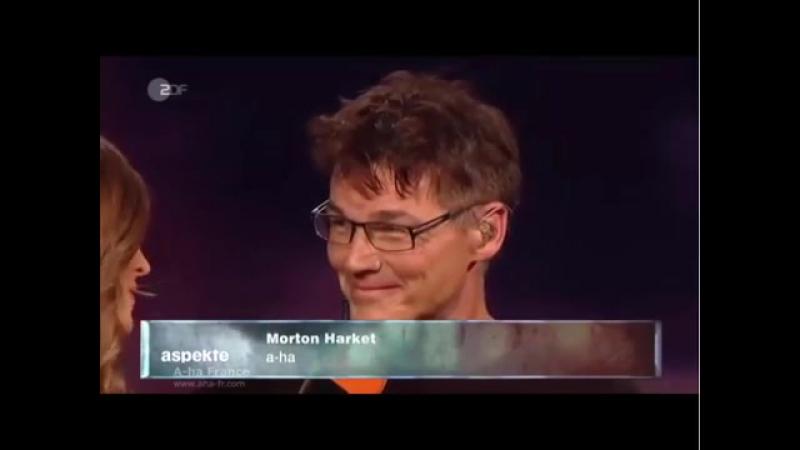 [A-ha FR] A-ha Under the Makup Acoustique - Aspekte ZDF 05-09-2015