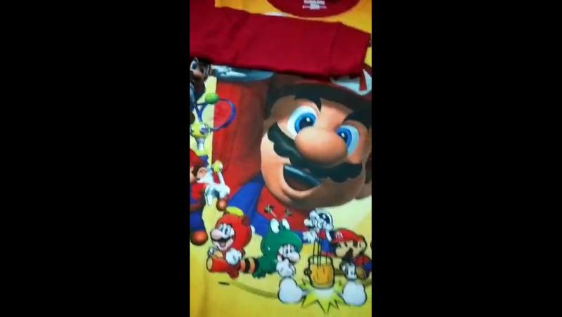 Super Mario Kids Pyjamas 2 pcs Set Christmas Birthday Gift Baby Boys Toddler Sleepwear Nightwear Pajamas Sets 1-7 Yrs Old Retail