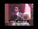 Ted Bundy throwing a tantrum in court.