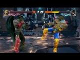 Кинг VS Дьявол Дзин (Tekken 7)