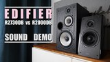 Edifier R2730DB vs Edifier R2000DB Sound Demo w Bass Test